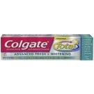 Colgate Total Advanced Fresh + Whitening Toothpaste Gel Fresh - 5.8 oz