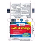 GNP® Cold and Allergy PE Tablets- 24ct