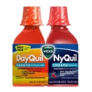Vicks® Dayquil Nyquil Cold & Flu Relief Combo Pack, Liquid, 2-12 oz Bottles