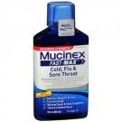 Mucinex Maximum Strength Fast-Max Cold, Flu & Sore Throat, Multi-Symptom- 9oz