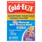 Cold-Eeze Plus Natural Multi-Symptom Cold & Flu Relief Lozenges Mixed Berry Flavor - 12ct