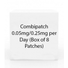 Combipatch 0.25-0.05mg/24HR Adhesive Patch - Box of 8 Patches