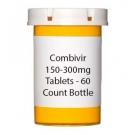 Combivir 150-300 mg Tablets - 60 Count Bottle