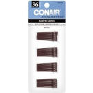 Conair® Styling Essentials Mini Hair Pins, Brown, 36ct- 3 Packs ** Extended Lead Time **