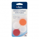Apex Deluxe Contact Lens Cases- 2pk