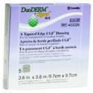 Convatec DuoDERM Signal Tapered Edge CGF Dressings 4 X 4 in 5/Box