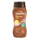 Coppertone Tanning Lotion Sunscreen, SPF 8- 8oz