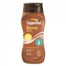 Coppertone Tanning Lotion Sunscreen, SPF 8- 8oz