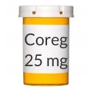 Coreg 25mg Tablets