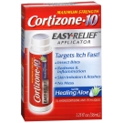 Cortizone 10 Easy Relief Applicator with Healing Aloe 1.25oz- 1ct