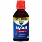 Vicks® Nyquil Cough Relief Liquid, Cherry- 8oz