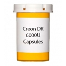 Creon DR 6000U Capsules (100 count Bottle)