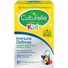 Culturelle Kids Immune Defense Probiotic Chewable Tablets- 30ct