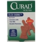 Curad Flex-Fabric Sterile Assorted Adhesive Bandages 20 ct