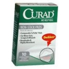 Curad Non-Stick Pads 2 Inches X 3 Inches  10ct