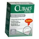 Curad Non-Stick Pads 3 Inches X 4 Inches  20ct****OTC DISCONTINUED 2/28/14