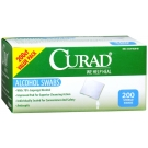Curad Prep Pad, Alcohol Swabs- 200ct