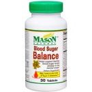 Mason Vitamins Natural Blood Sugar Balance Tablets - 30ct