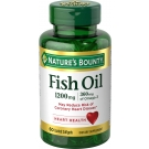 Nature's Bounty Fish Oil 1200mg Odorless Omega-3 Softgels 60ct