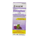 Major Children's Dimaphen Dm, Grape, 4oz