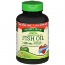 Nature's Truth Fish Oil 1000 Mg Omega-3 Odorless Lemon Flavor 110 Softgels