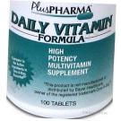Daily Multivitamin Formula w/ Iron- 100 Tablets