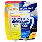 Mucinex Fast-Max Honey Lemon Severe Cold & Night Time Cold & Flu Relief Drink Mix- 8ct