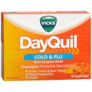 Vicks® Dayquil Multisymptom Cold & Flu Relief LiquiCaps, Non-Drowsy- 16ct