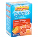 Emergen-C Immune Plus with Vitamin D Powder Packets, Super Orange, 0.33 oz, 10ct