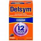 Delsym 12 Hr Cough Suppressant Grape 3 oz