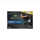 Depend Real Fit for Men Briefs Maximum Absorbency Small/Medium Gray & Blue - 12ct