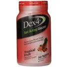 Dex4 Glucose Tablet Topical Fruit  50 Count
