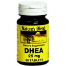 Nature's Blend DHEA 25 mg Tablets, 60ct