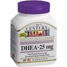 21st Century DHEA 25mg Capsules - 90ct