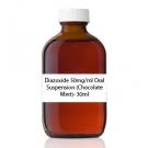 Diazoxide 50mg/ml Oral Suspension (Chocolate Mint)- 30ml
