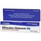 Dibucaine 1% Ointment (Perrigo) - 1 oz TubeMFG DISCONTINUED 2/14/14