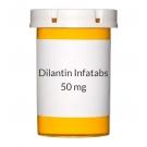 Dilantin Infatabs 50mg Chew Tabs