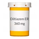 Diltiazem ER 360mg Capsules (Generic Tiazac)