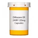 Diltiazem ER 24HR 120mg Capsules