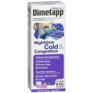 Children's Dimetapp Nighttime Cold & Congestion Grape - 4.0 oz