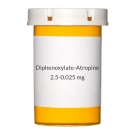 Diphenoxylate-Atropine (Generic Lomotil) 2.5-0.025 mg Tablets