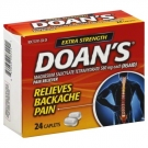 Doan's Extra Strength Pain Reliever 580 mg Caplets - 24ct