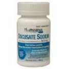 Docusate Sodium Stool Softener Laxative (100mg) - 100 Tablets