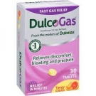 DulcoGas Maximum Strength Gas Relief, Tangy Citrus Chew- 30ct