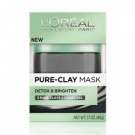 L'oreal Pure Clay Mask Detoxify and Brighten 1.7 oz