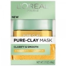 L'oreal Pure Clay Mask Exfoliate and Smooth 1.7 oz