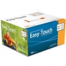EasyTouch Insulin Syringe 27 Gauge, .5cc, 1/2