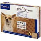 Effitix Plus Topical Solution for Dogs (5-10.9lbs)- 3 Month Supply