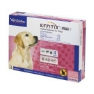 Effitix Plus Topical Solution for Dogs (45-88lbs)- 3 Month Supply