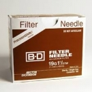BD Nokor Filter Needle 19 Gauge, 1.5